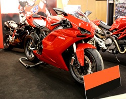 Museo Ducati.Museo Ducati In An Area That Extends For More Than 1000 Square